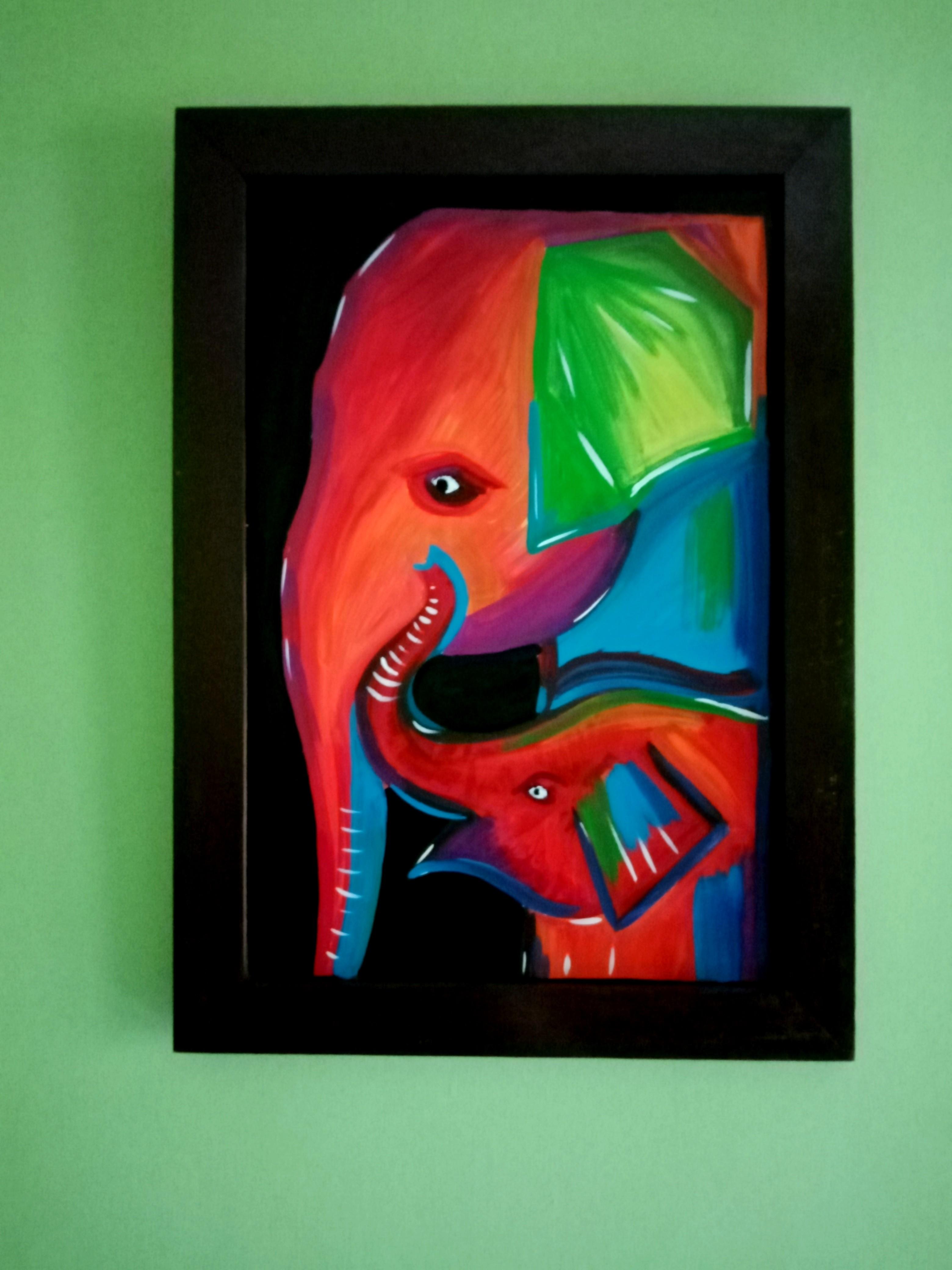 Elephants by Gayan Amarasinghe