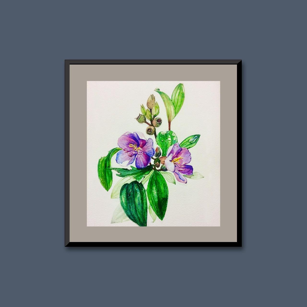 Tropical flora III by Thilini Jinadasa