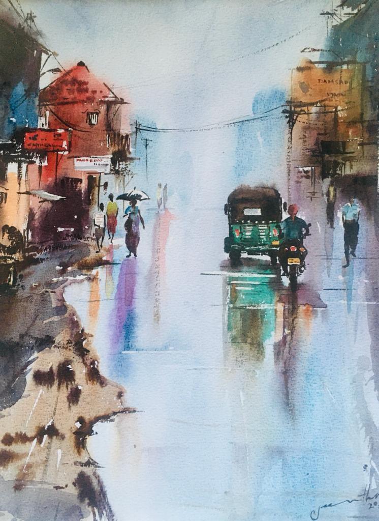 After the rain by Jeewantha Samarakoon