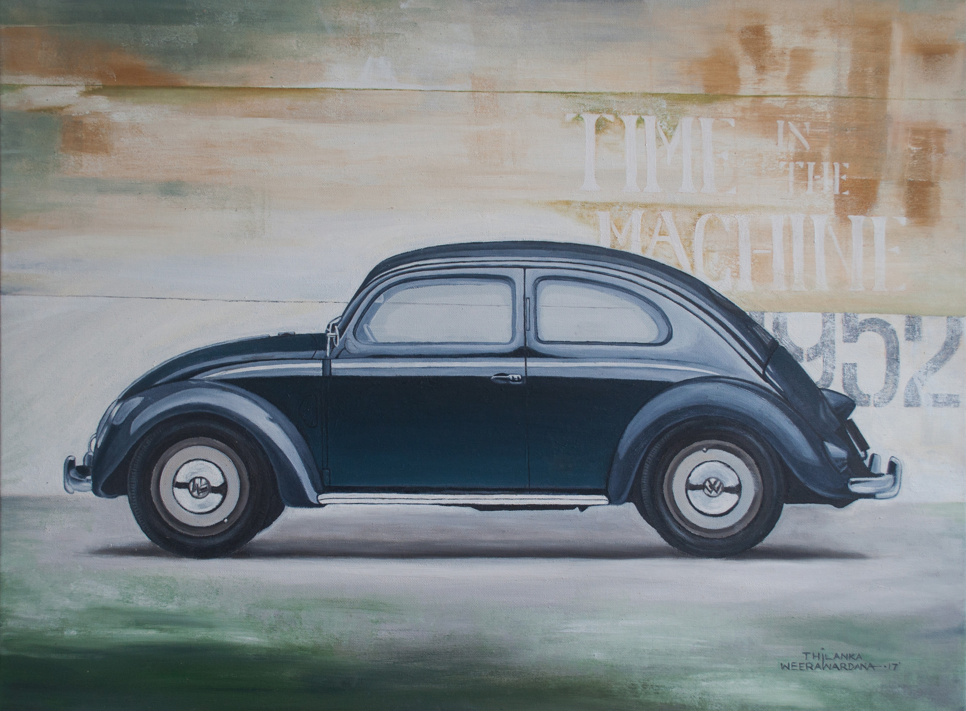 """Time (in the) machine"" Volkswag by Thilanka Weerawardana"