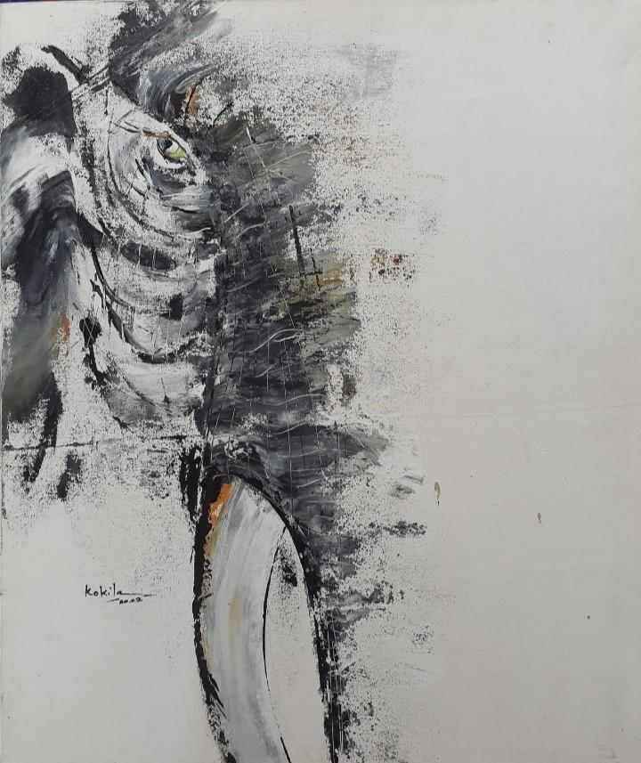 Eliphantart 2 by D.S.Kokila Dunumalage