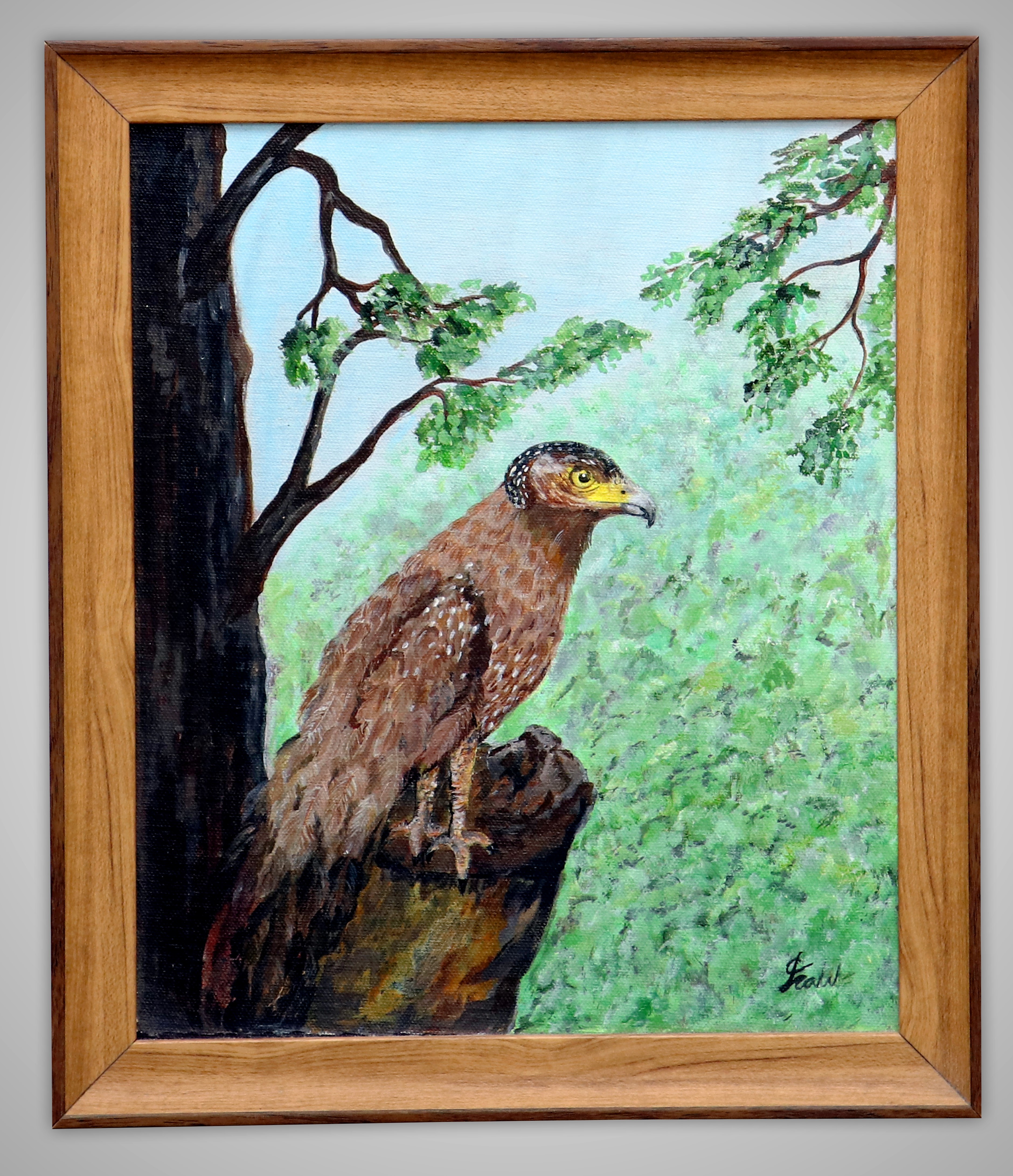 Serpent Eagle by Iranganie Wickramasinghe