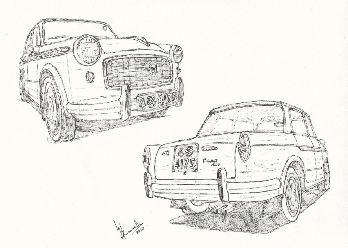Fiat Granluce Vetture Speciale by Lahiru Karunaratne