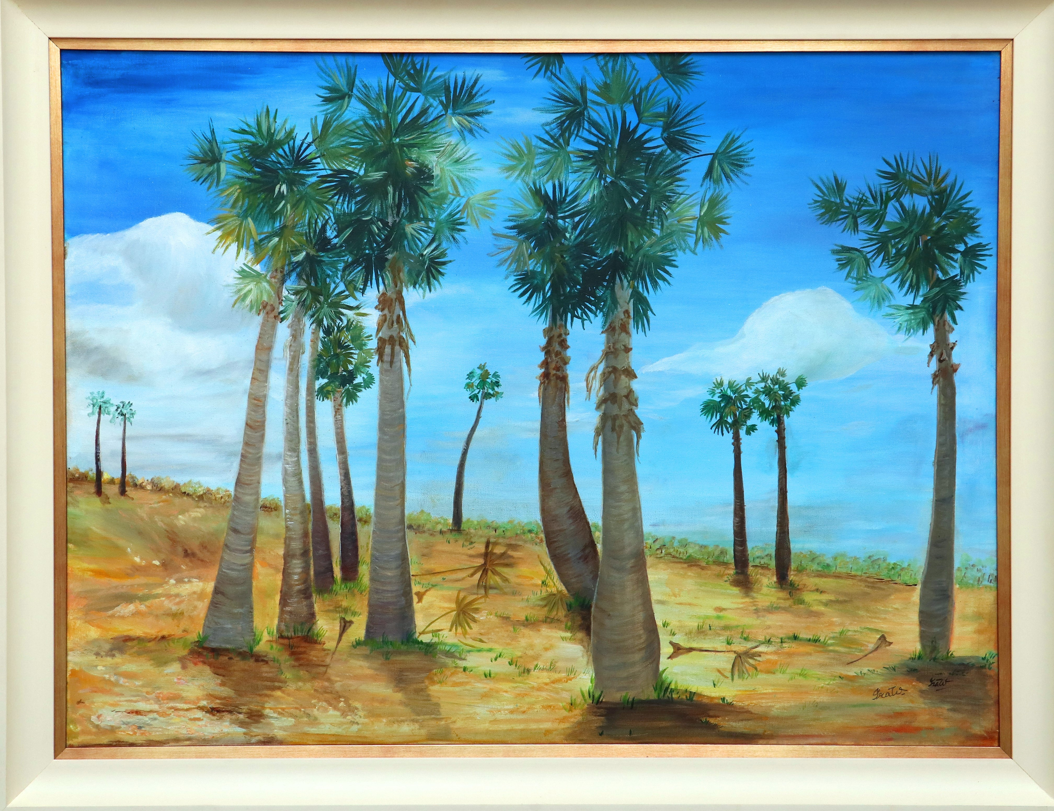 Palmyrahs in the North by Iranganie Wickramasinghe