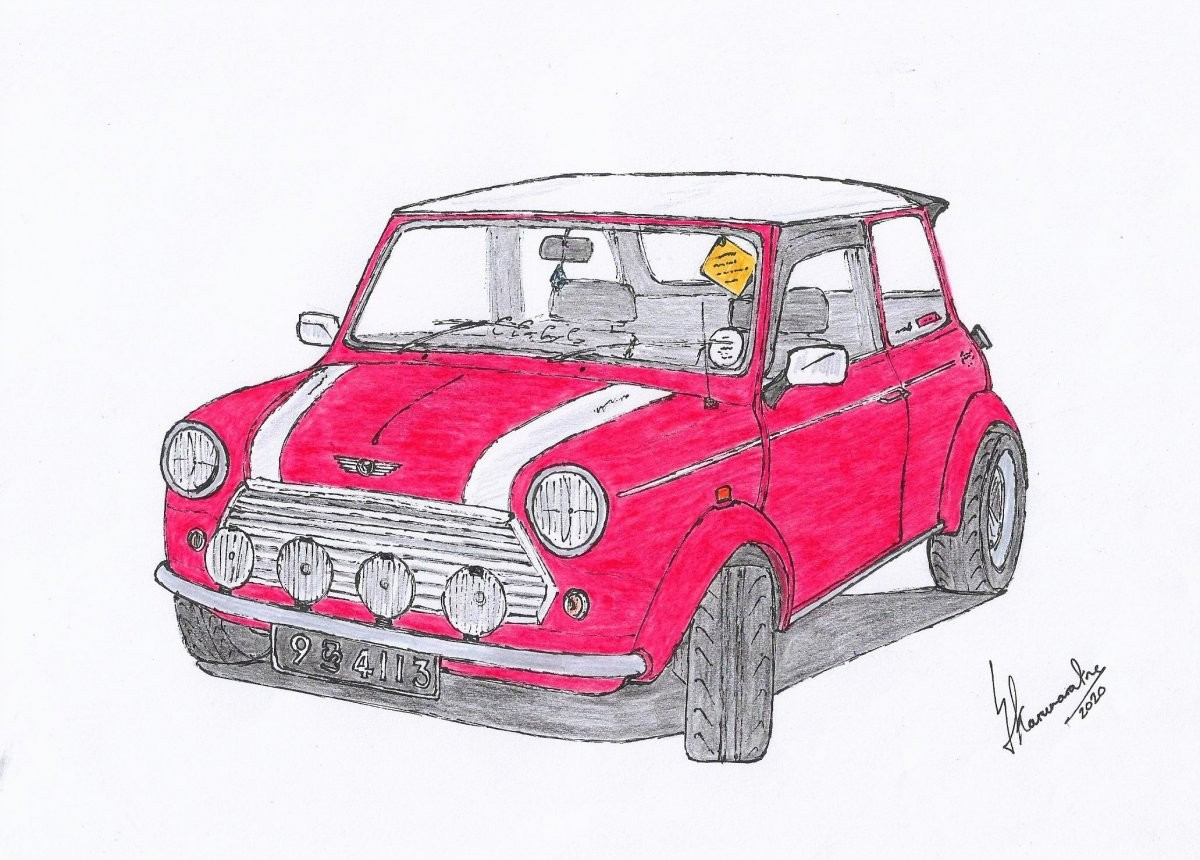 Mini Cooper by Lahiru Karunaratne