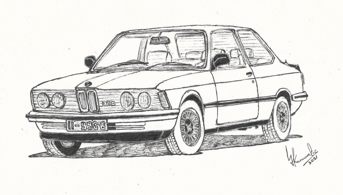 BMW E21 320 by Lahiru Karunaratne