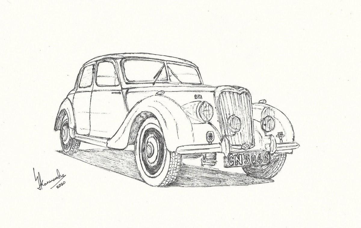 1950 Riley RMA by Lahiru Karunaratne