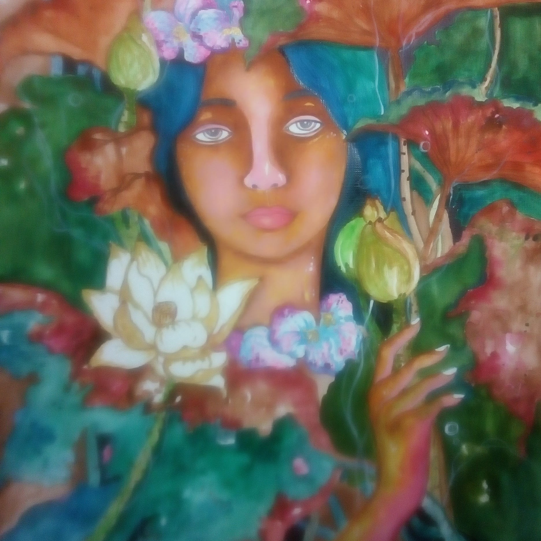 life in the land of lotus by Nihal Senarathna