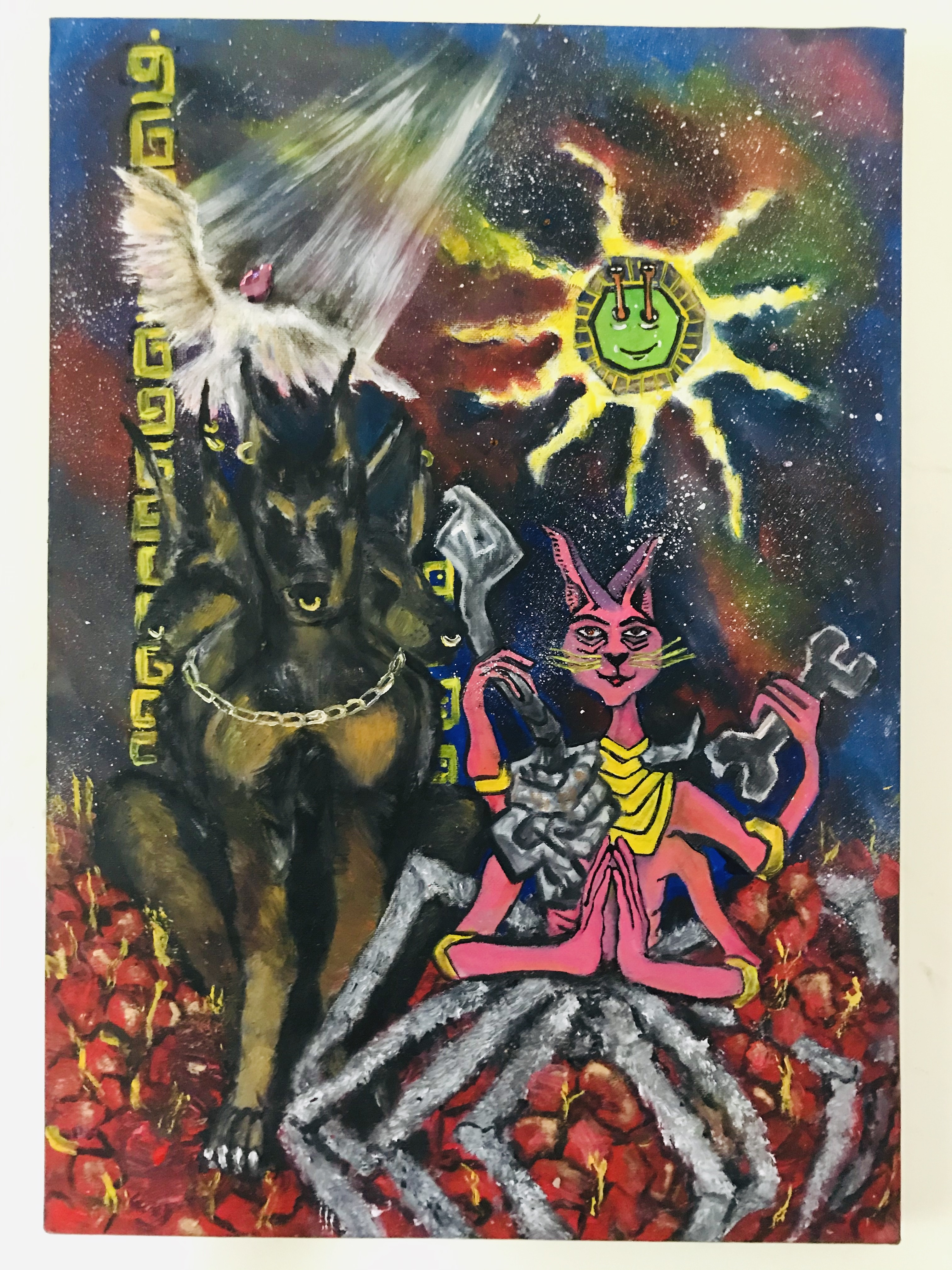 Interdimensional beings by Sanduni Bandara