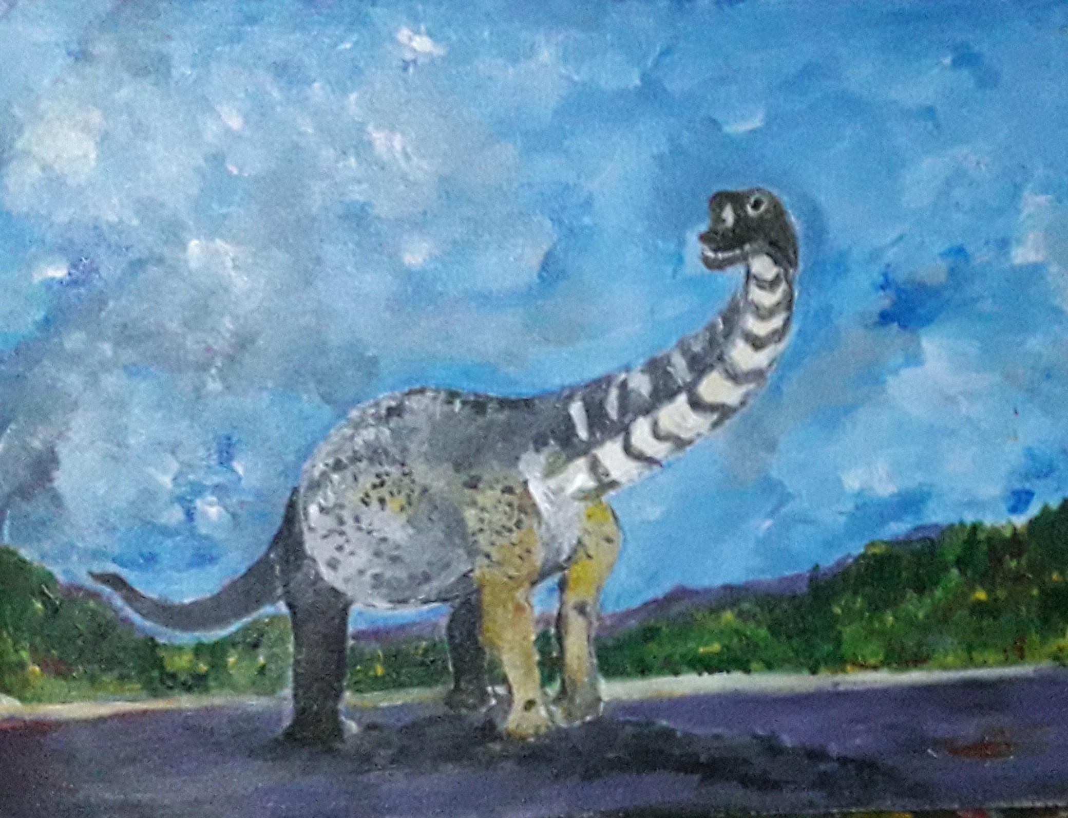 Dinosaur by Simpson David
