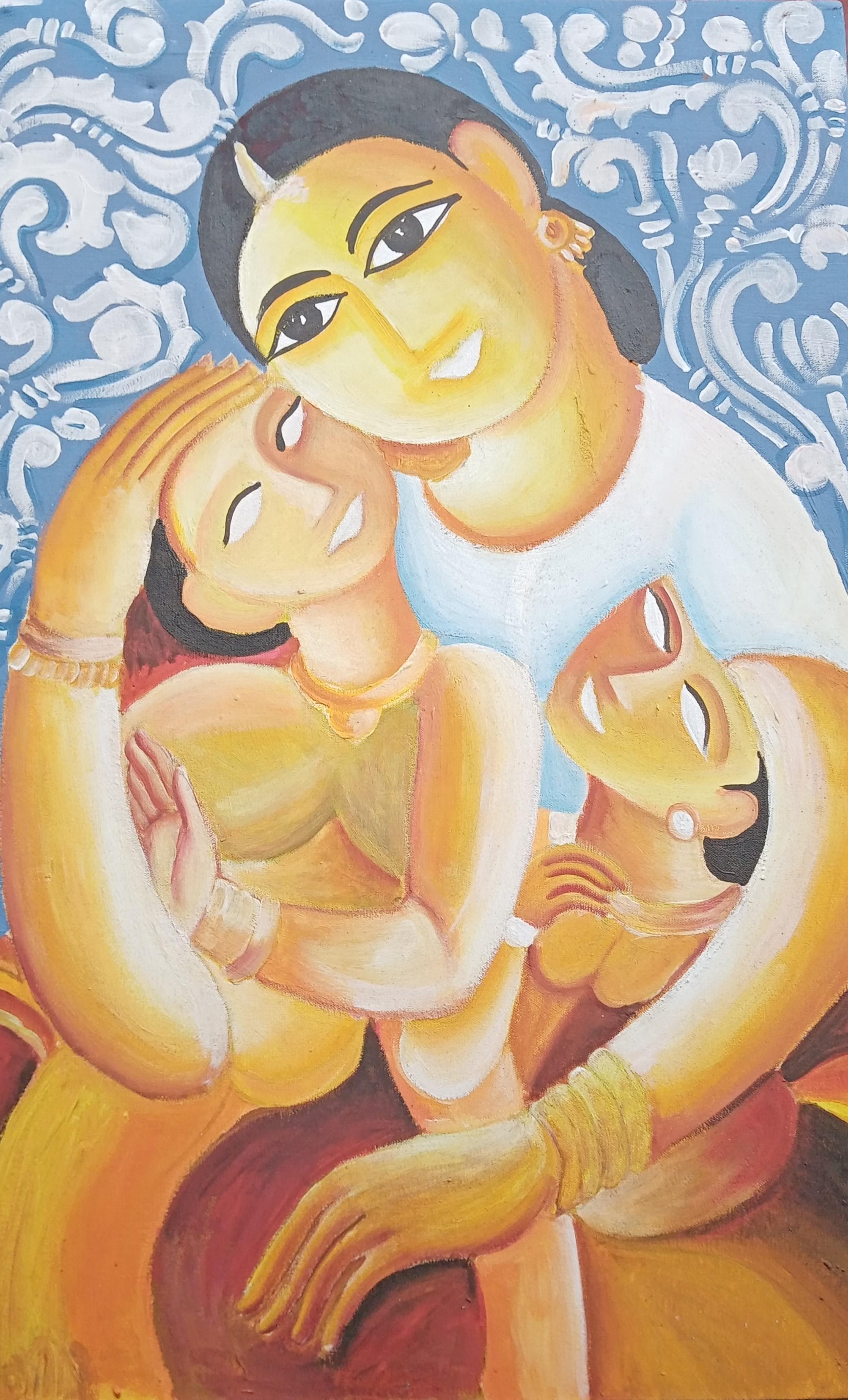 Mothers love by Arthana Pushpalingam