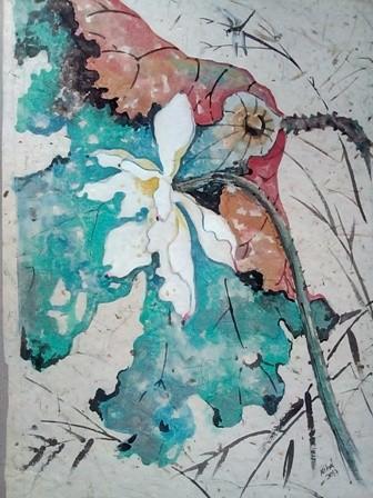 Lotus flower by Nihal Senarathna