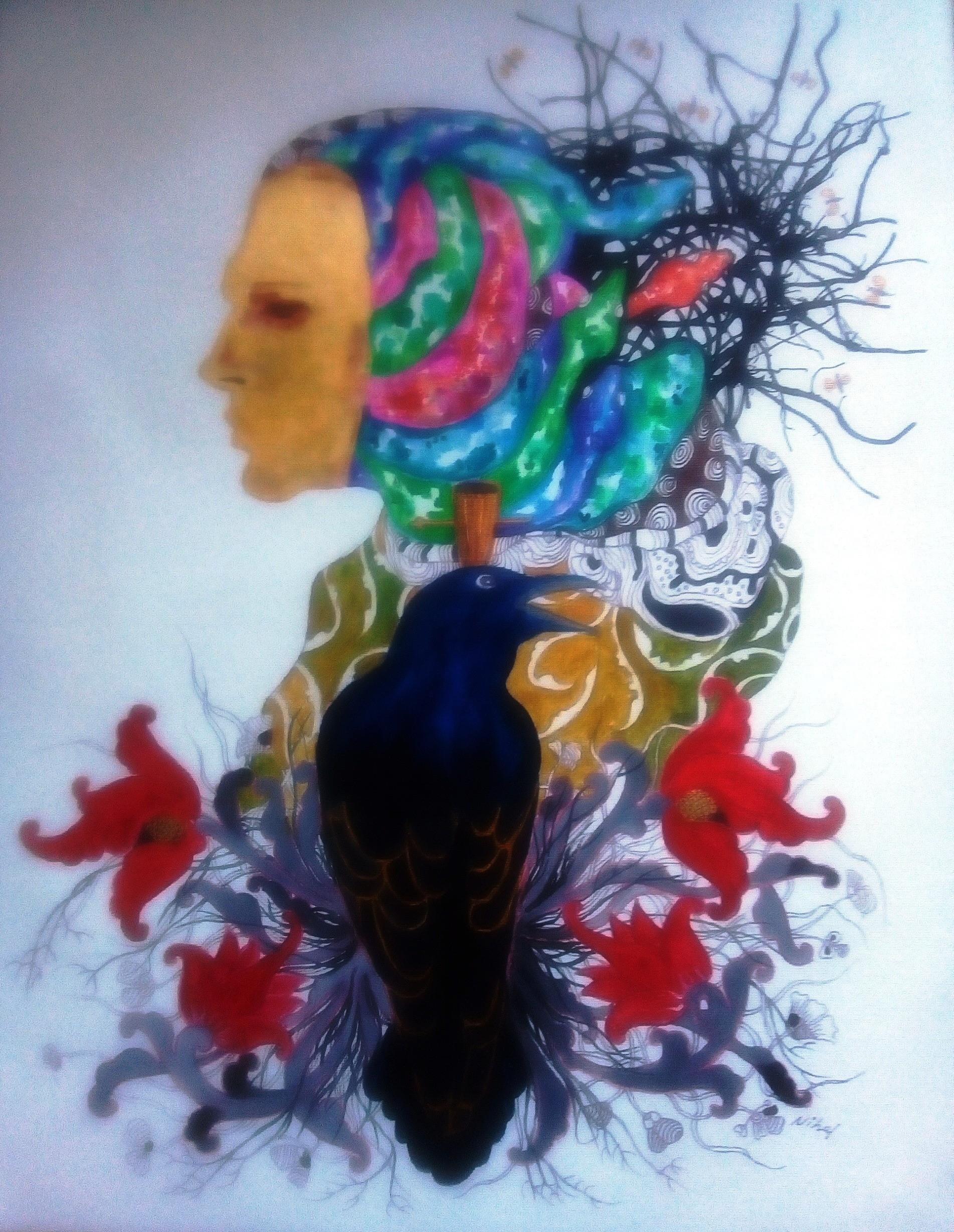 Spirit of Raven by Nihal Senarathna