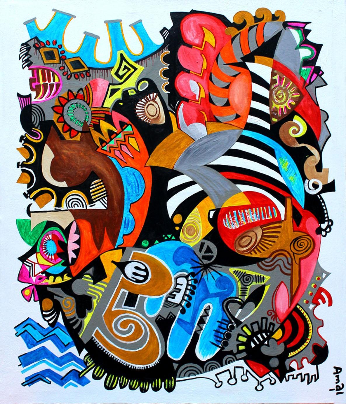 Fish and Cat by Amal Samaramanna
