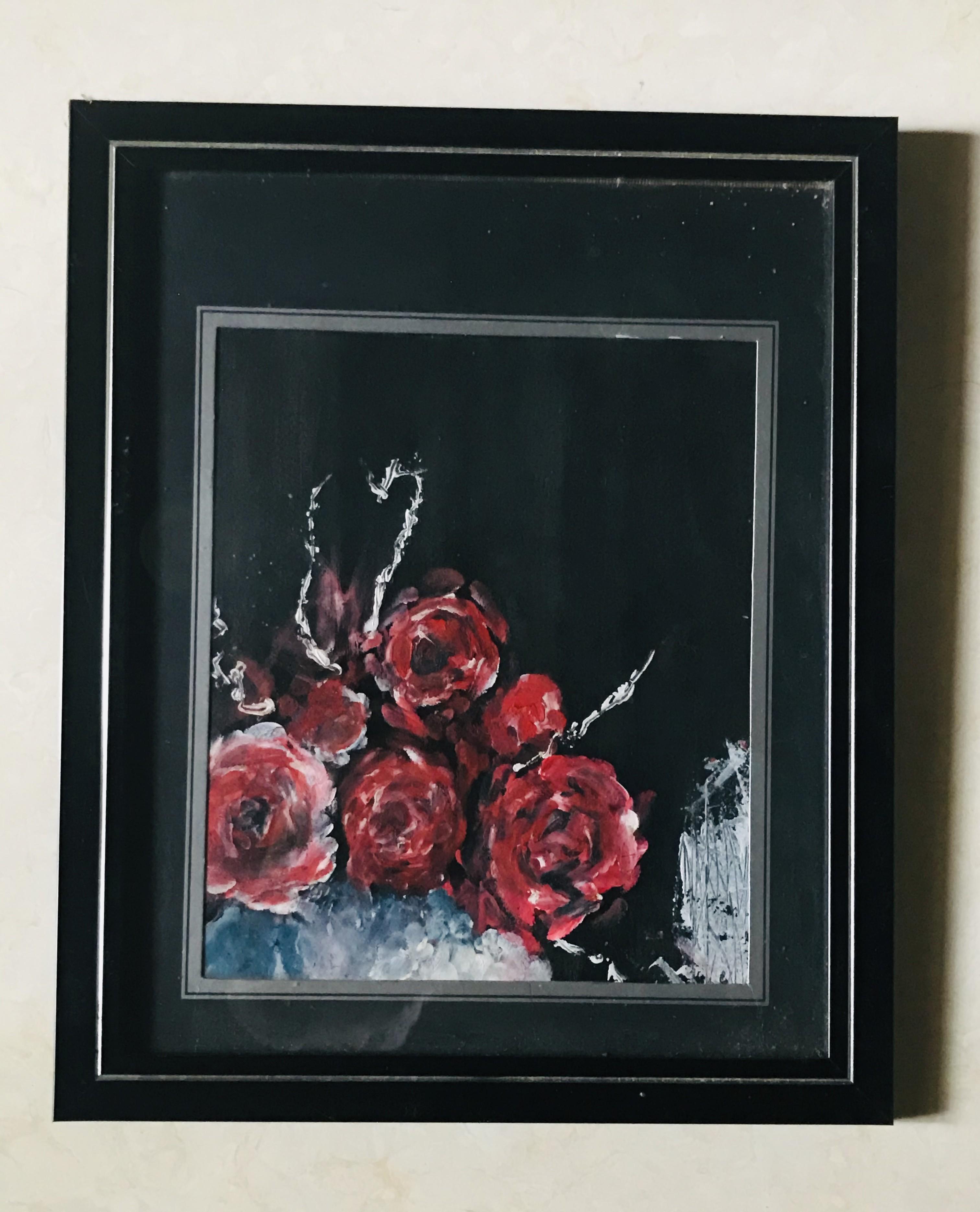 """roses"" by Sanduni Bandara"