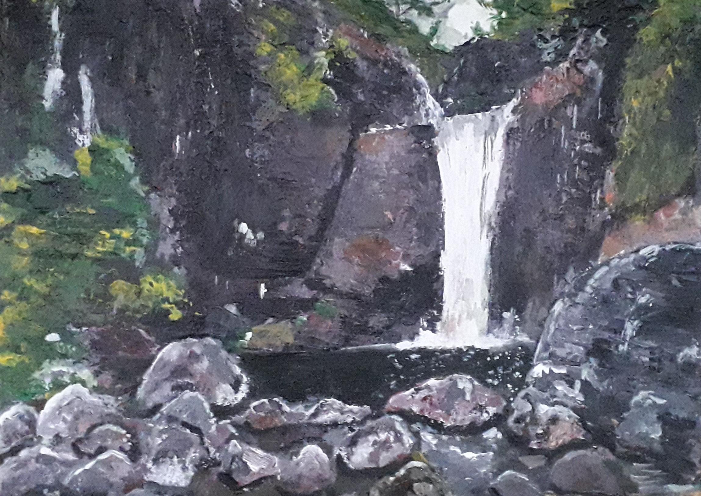 Bambarakiri Ella  _ Water Falls by Simpson David