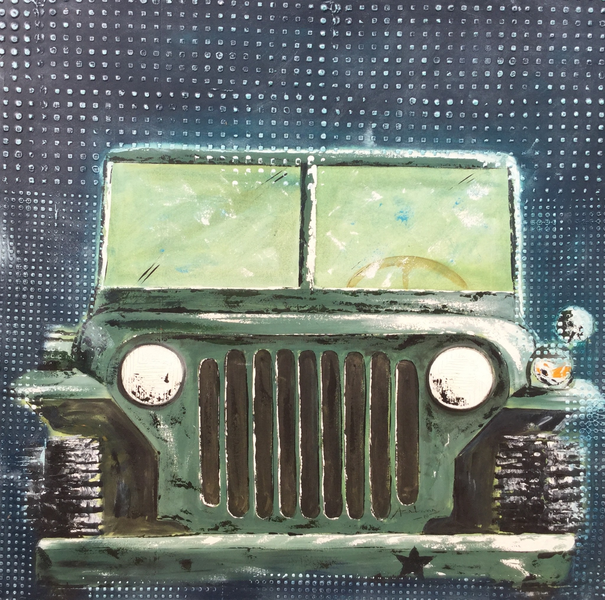 1st war JEEP by AC Nuwan
