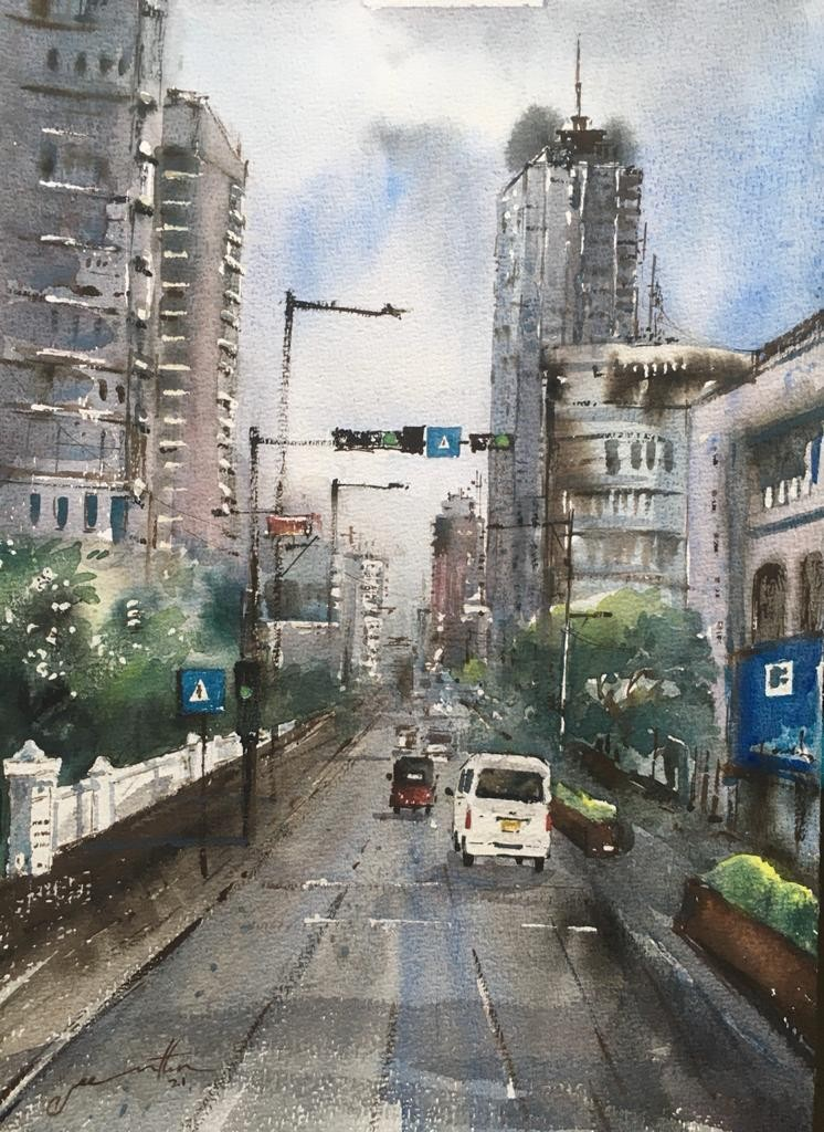 Street by Jeewantha Samarakoon