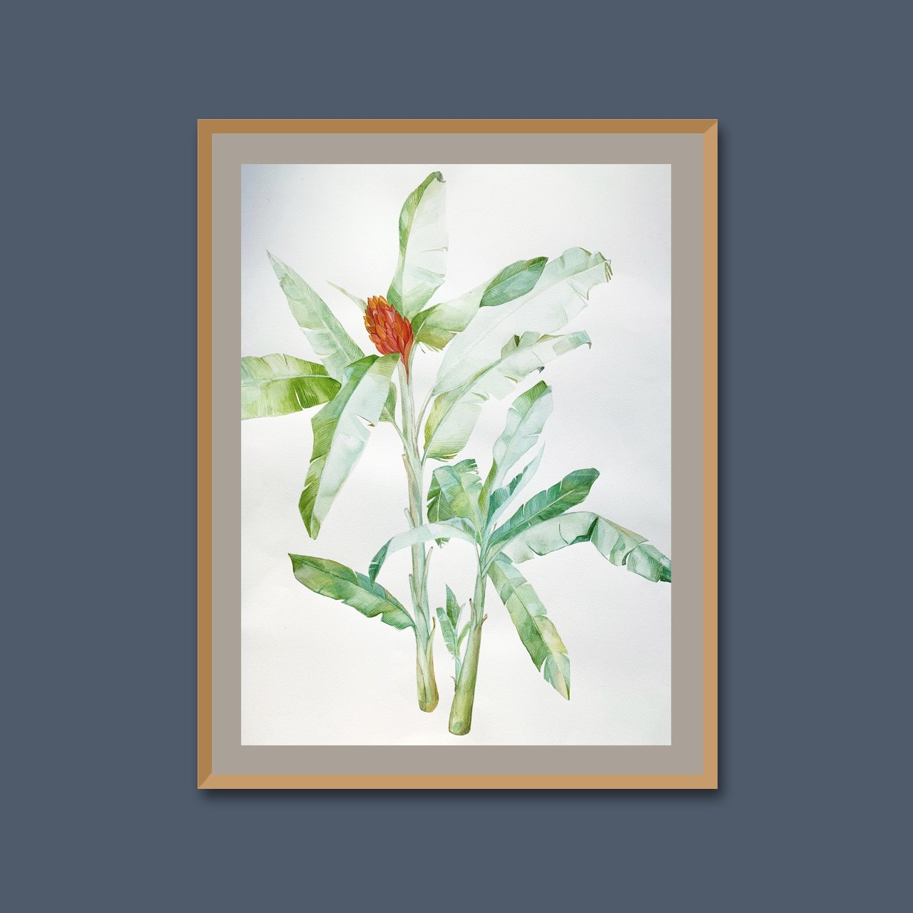 Tropical flora I by Thilini Jinadasa