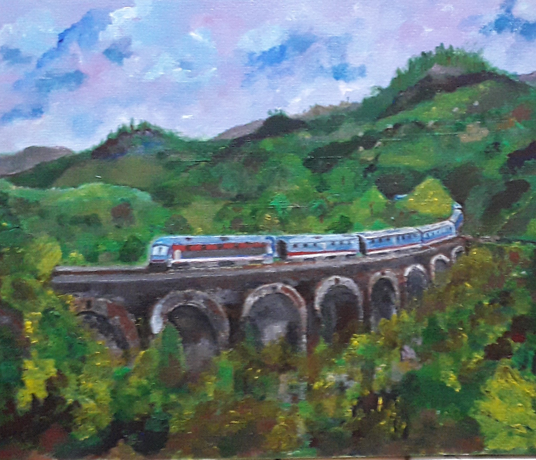 Nine Arch Bridge, Demodara by Simpson David