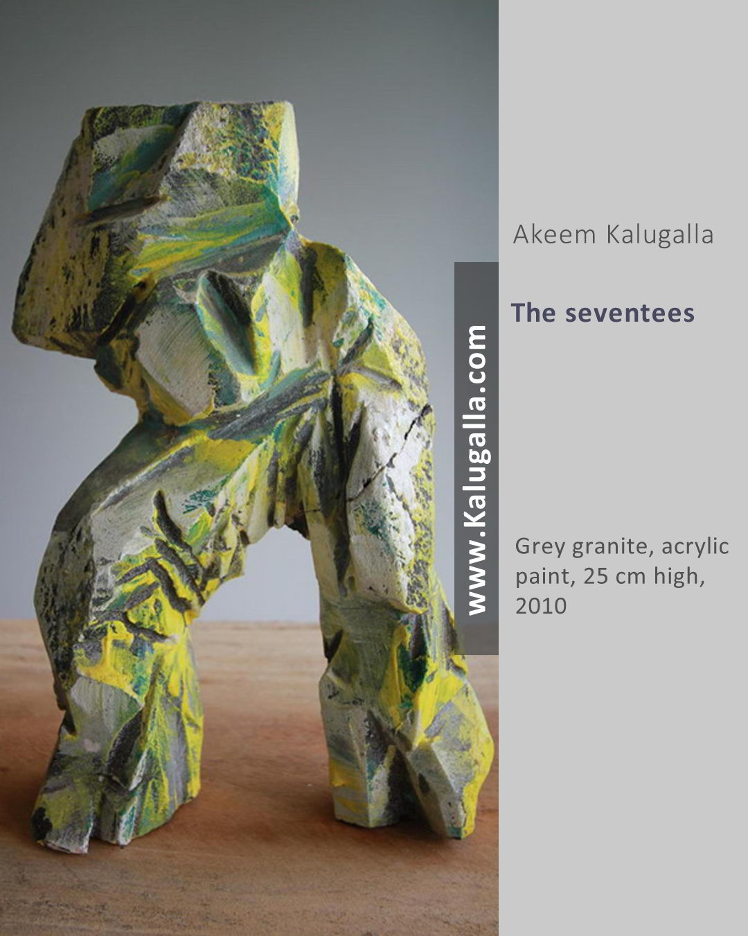 The Seventees by Akeem Kalugalla