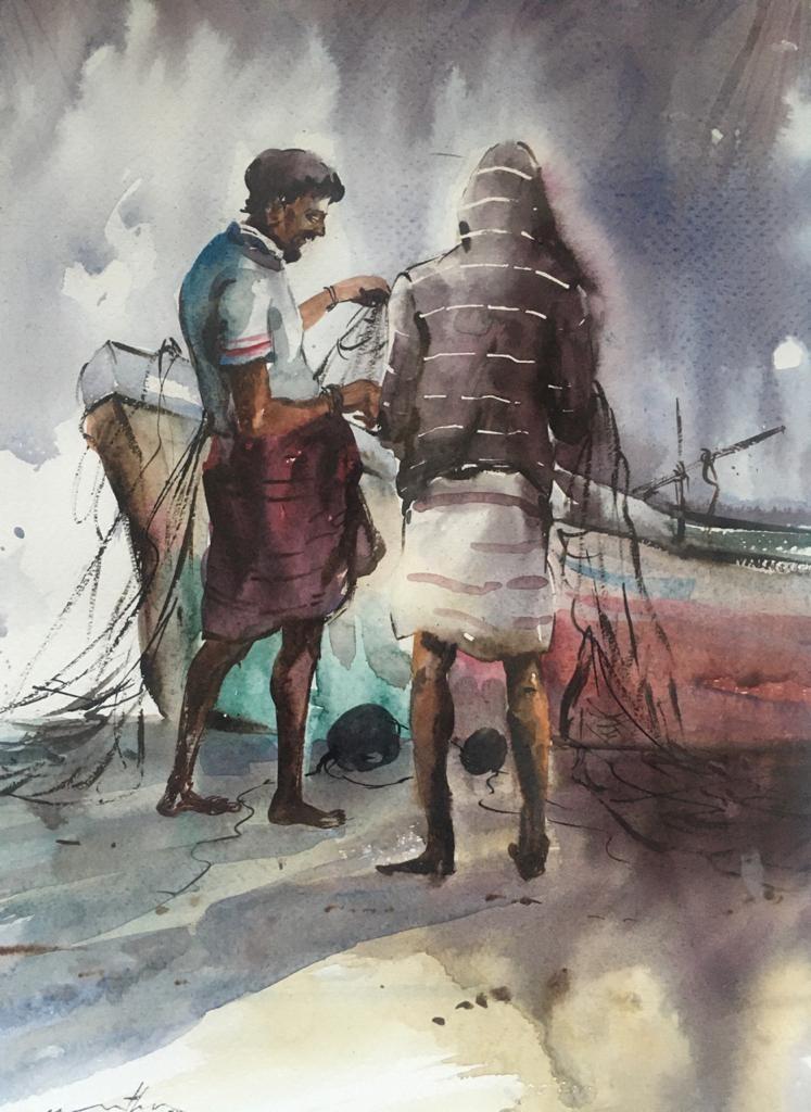 Fishermen by Jeewantha Samarakoon