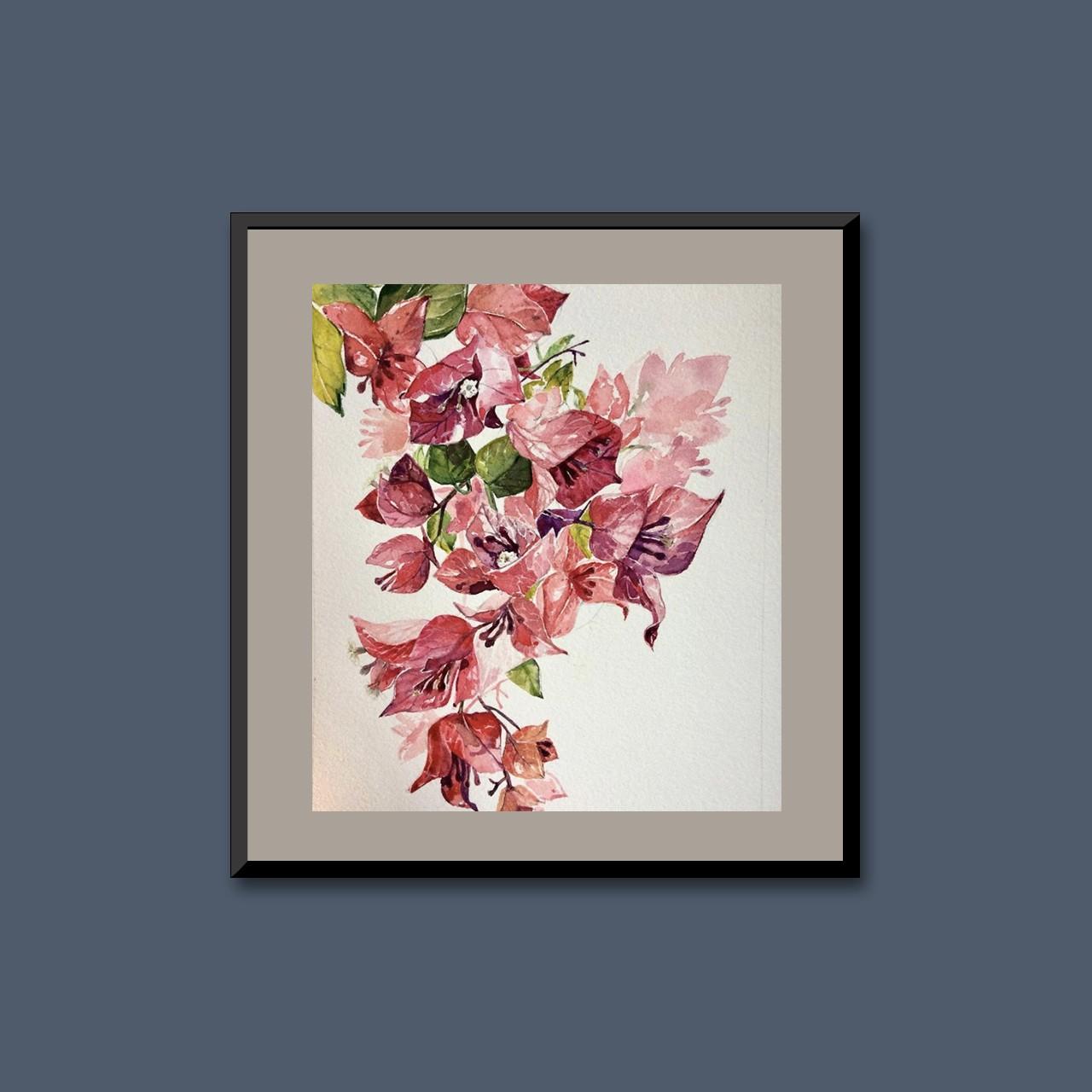 Tropical flora V by Thilini Jinadasa
