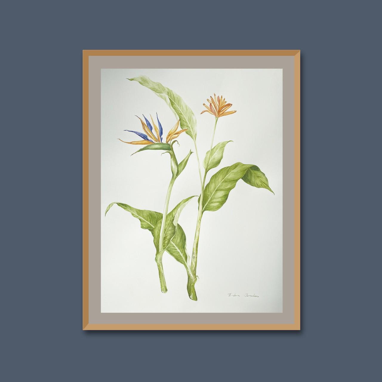 Tropical flora II by Thilini Jinadasa