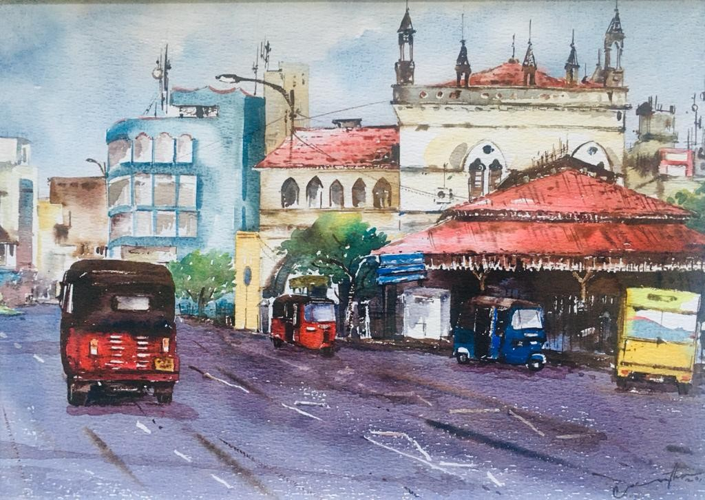 Old Town Hall by Jeewantha Samarakoon