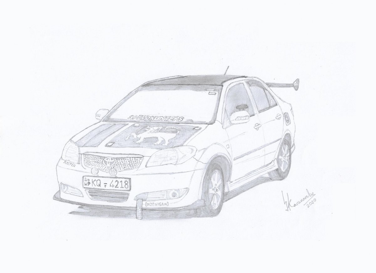 2004 Toyota Vios by Lahiru Karunaratne