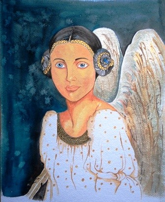 The Angel by Nihal Senarathna