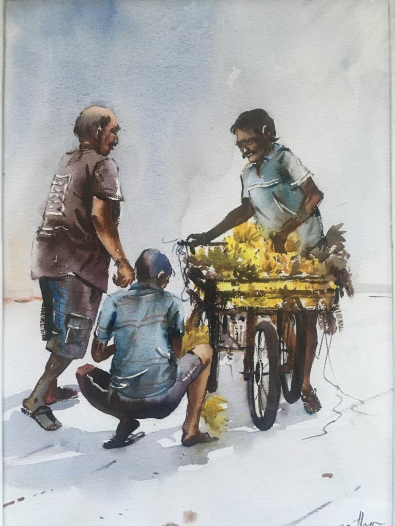 Moment in Pettah by Jeewantha Samarakoon