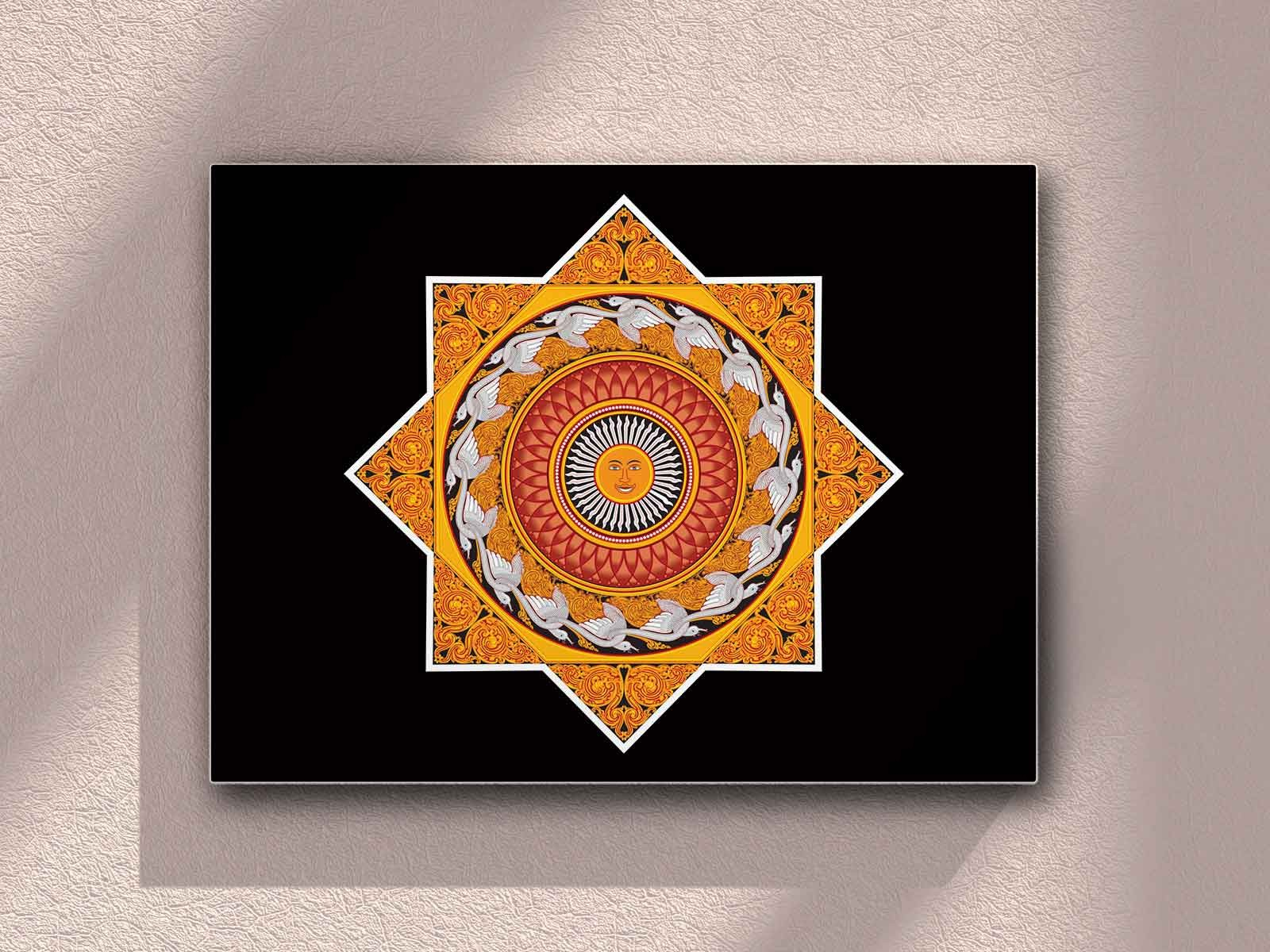 kandyan painting by THARINDU SAMPATH SIRIWARDANA