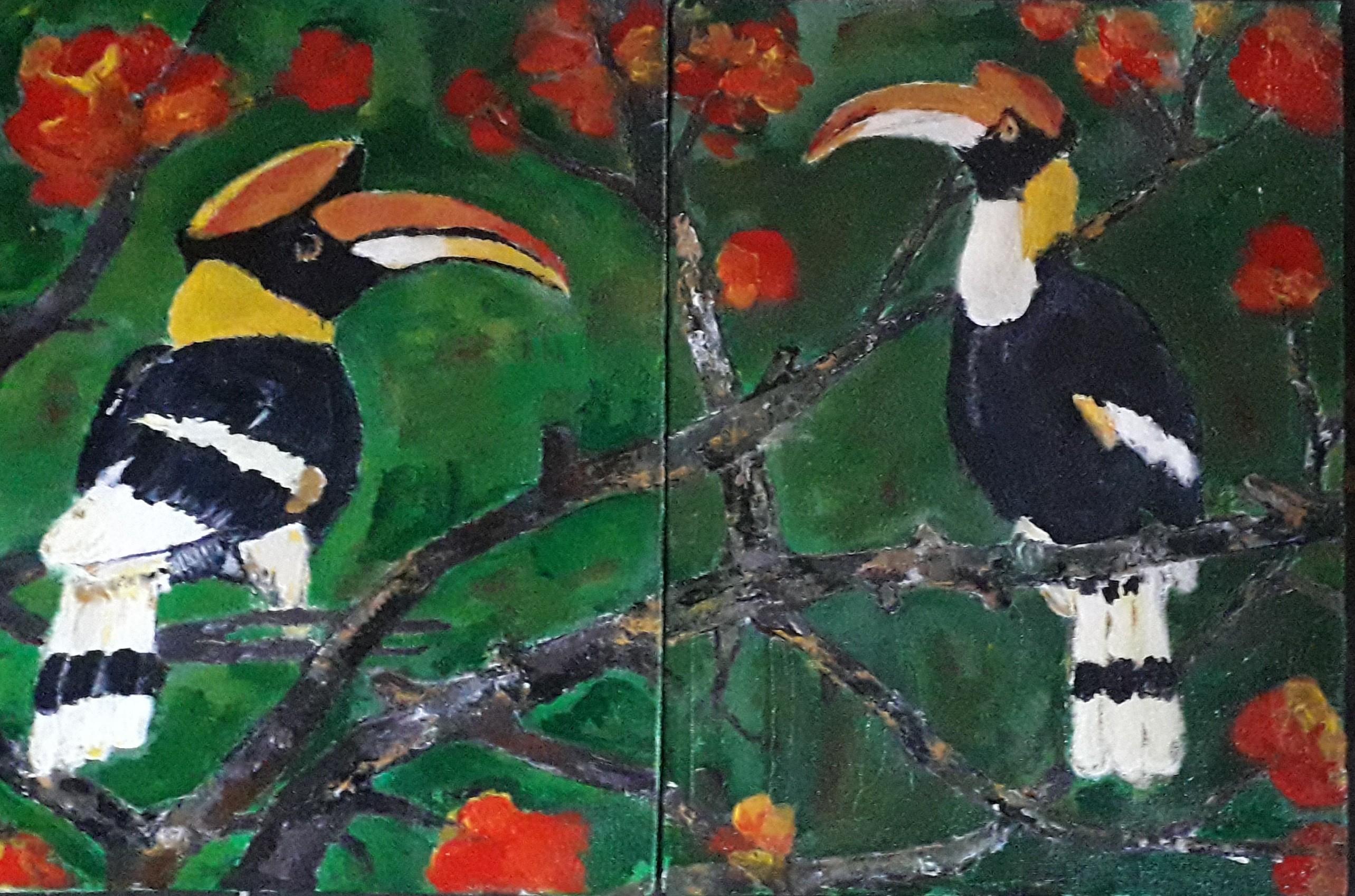 Hornbills (Bucerotidae) by Simpson David