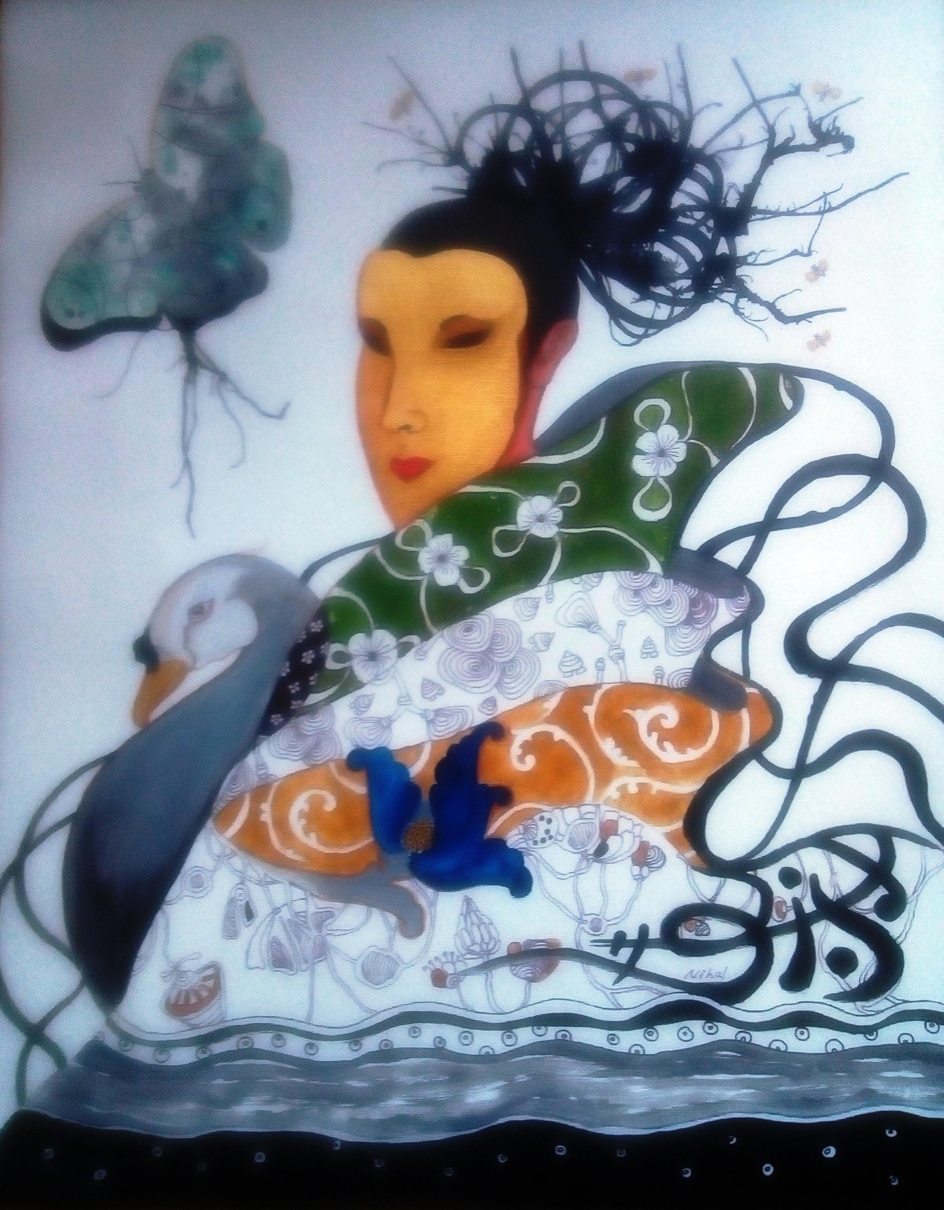Madam butterfly by Nihal Senarathna