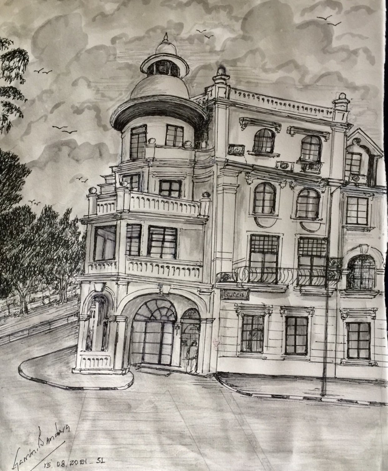 Buildings of old Ceylon by Gamini Meegalla