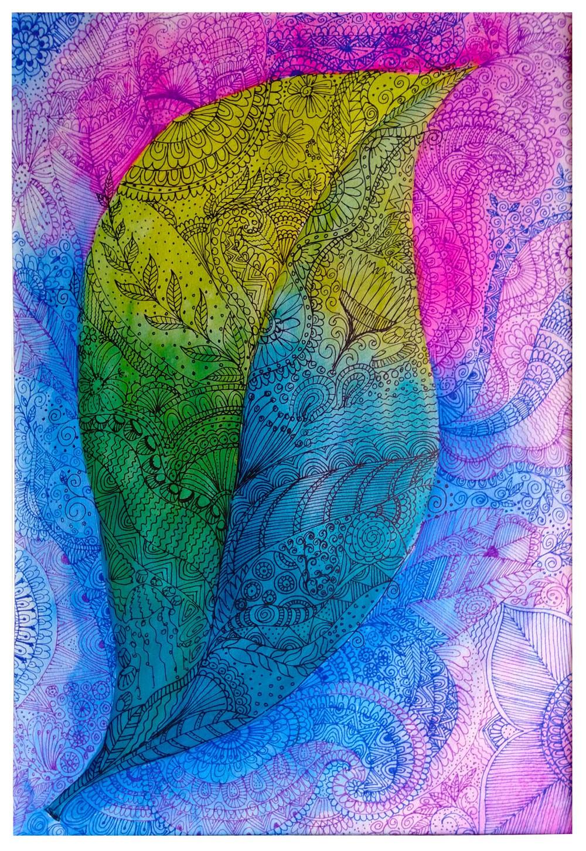 Leaf pattern by Achini Wickramaratna