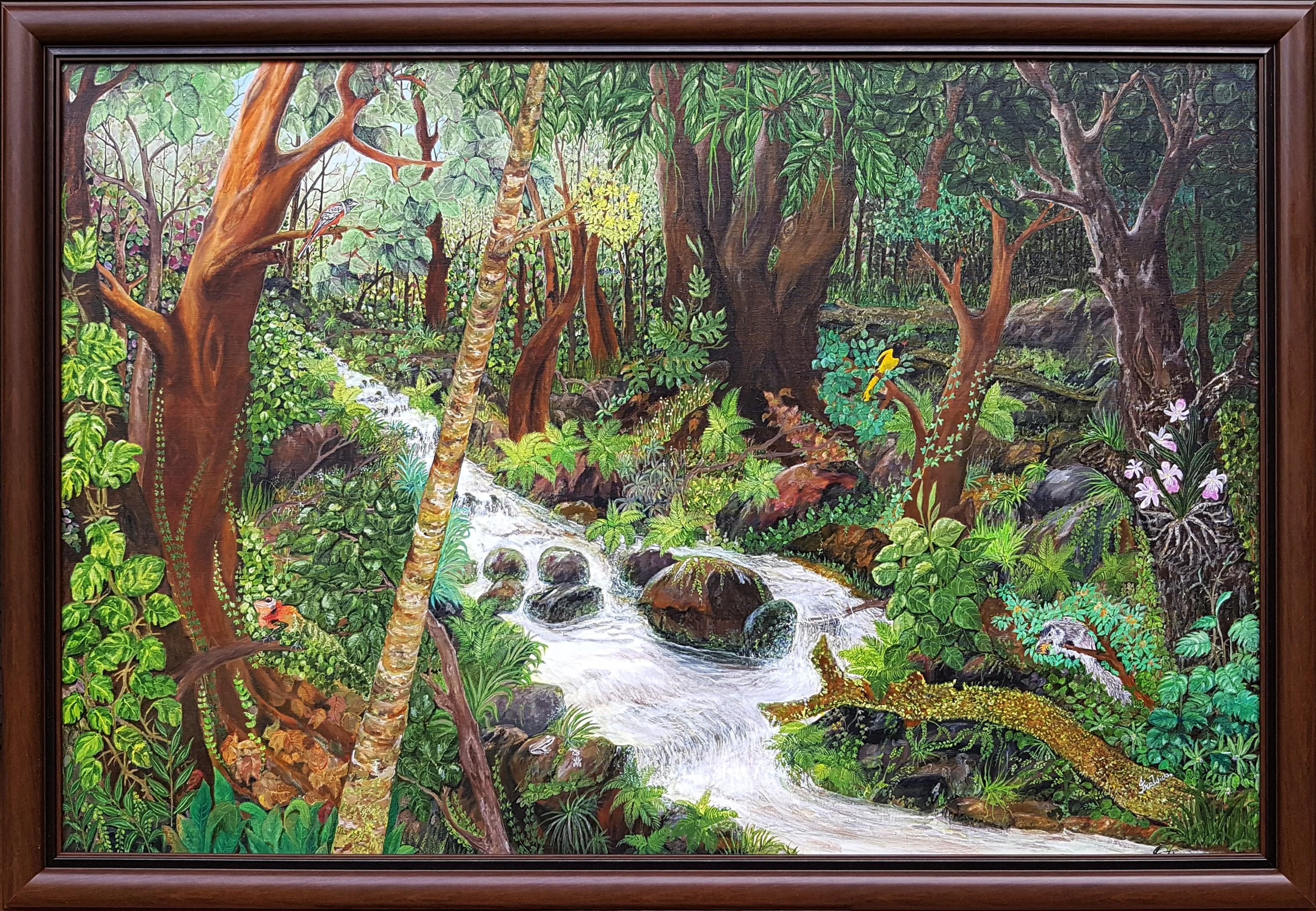 Tropical Splendour by Iranganie Wickramasinghe