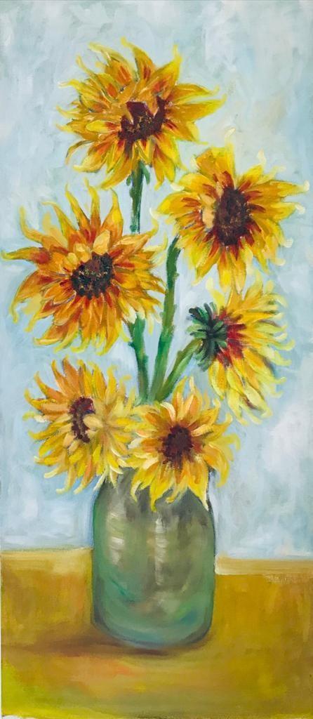 Sun flowers by Thilini De Simon