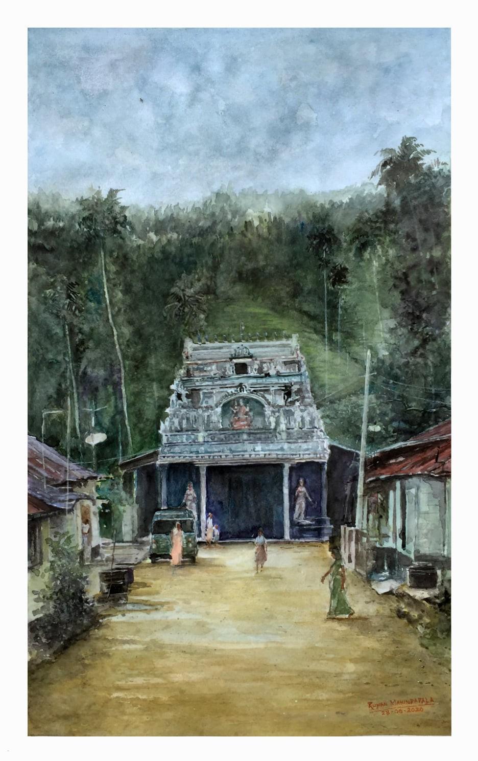 Hindu Temple in Koslanda, by RUWAN MAHINDAPALA