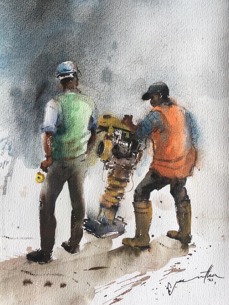 Workers by Jeewantha Samarakoon