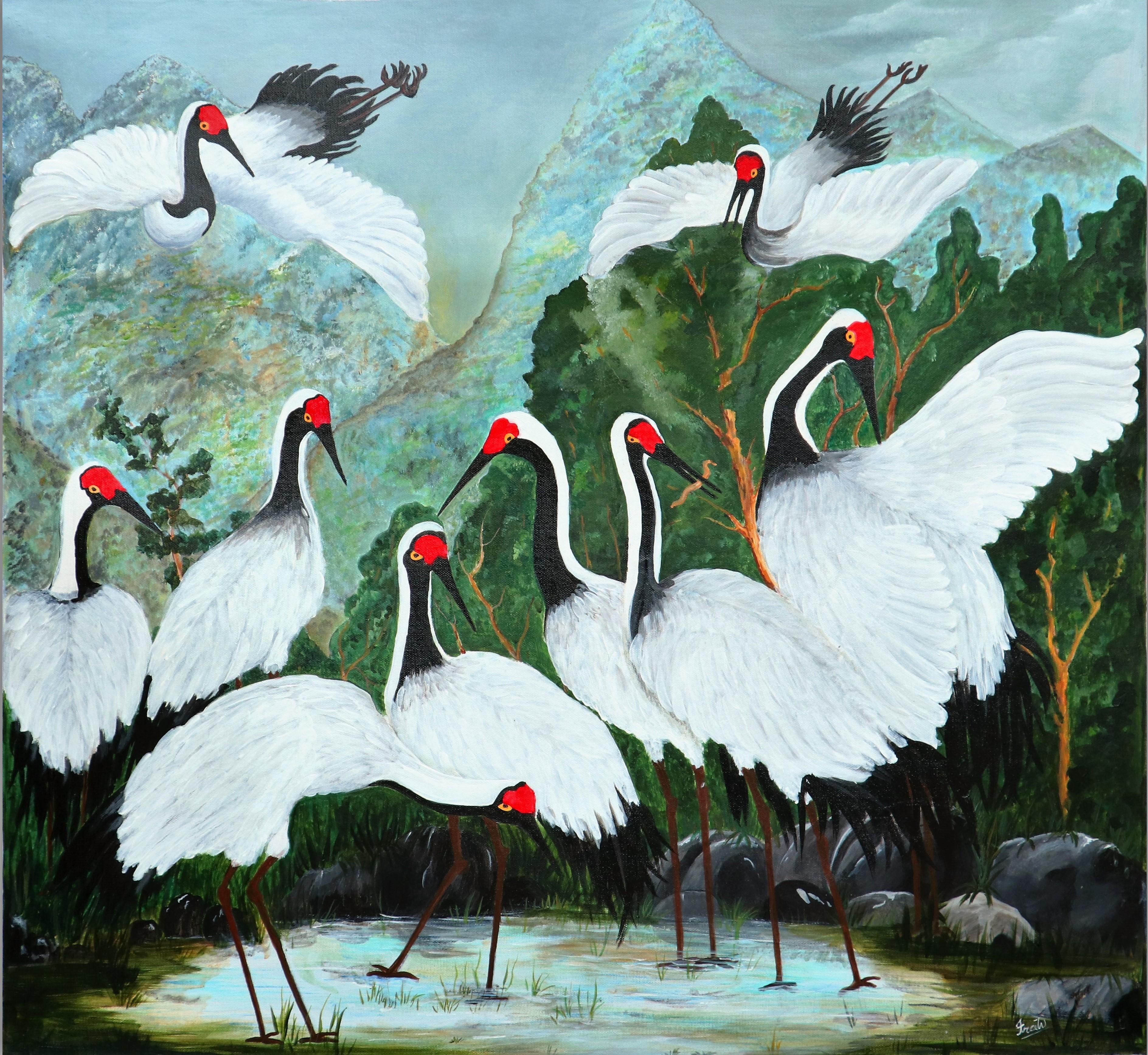 Storks by Iranganie Wickramasinghe