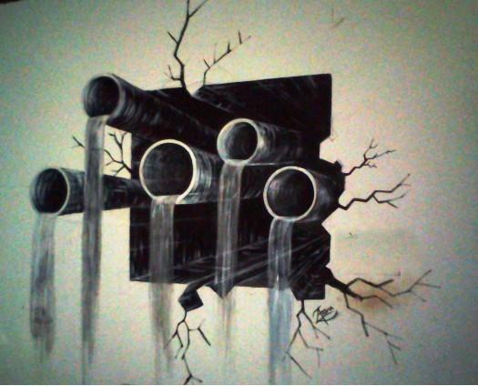 3D painting by Arunaka Ranga