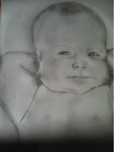 A Baby by U.M Sandya Dilrukshi