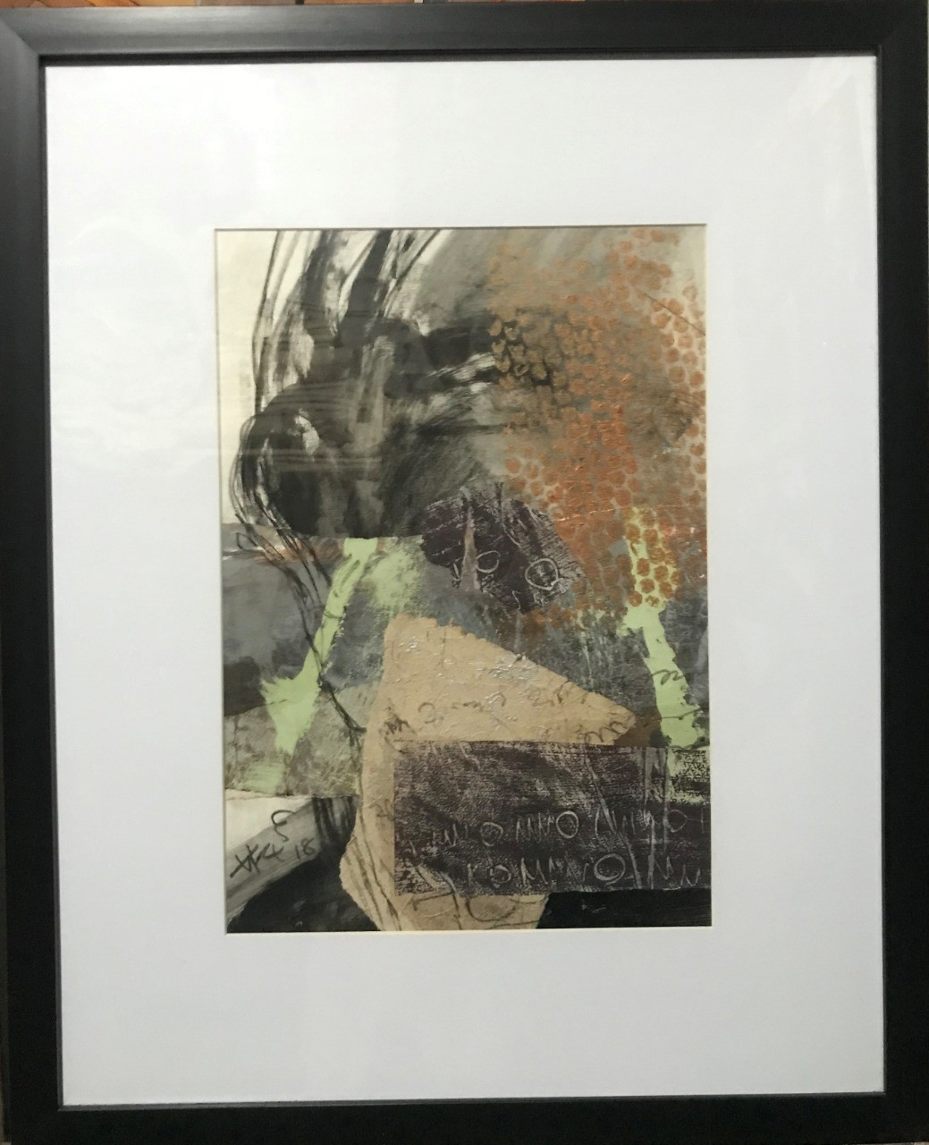 Abstract /Inside (5) by Ajith Susantha