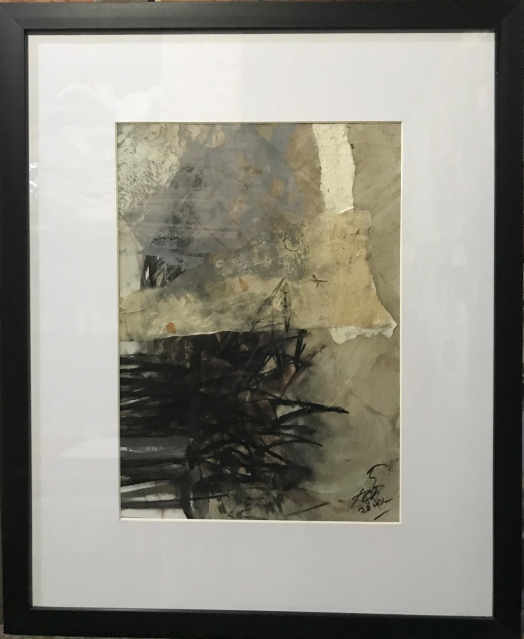Abstract/ Untitled (25) by Ajith Susantha