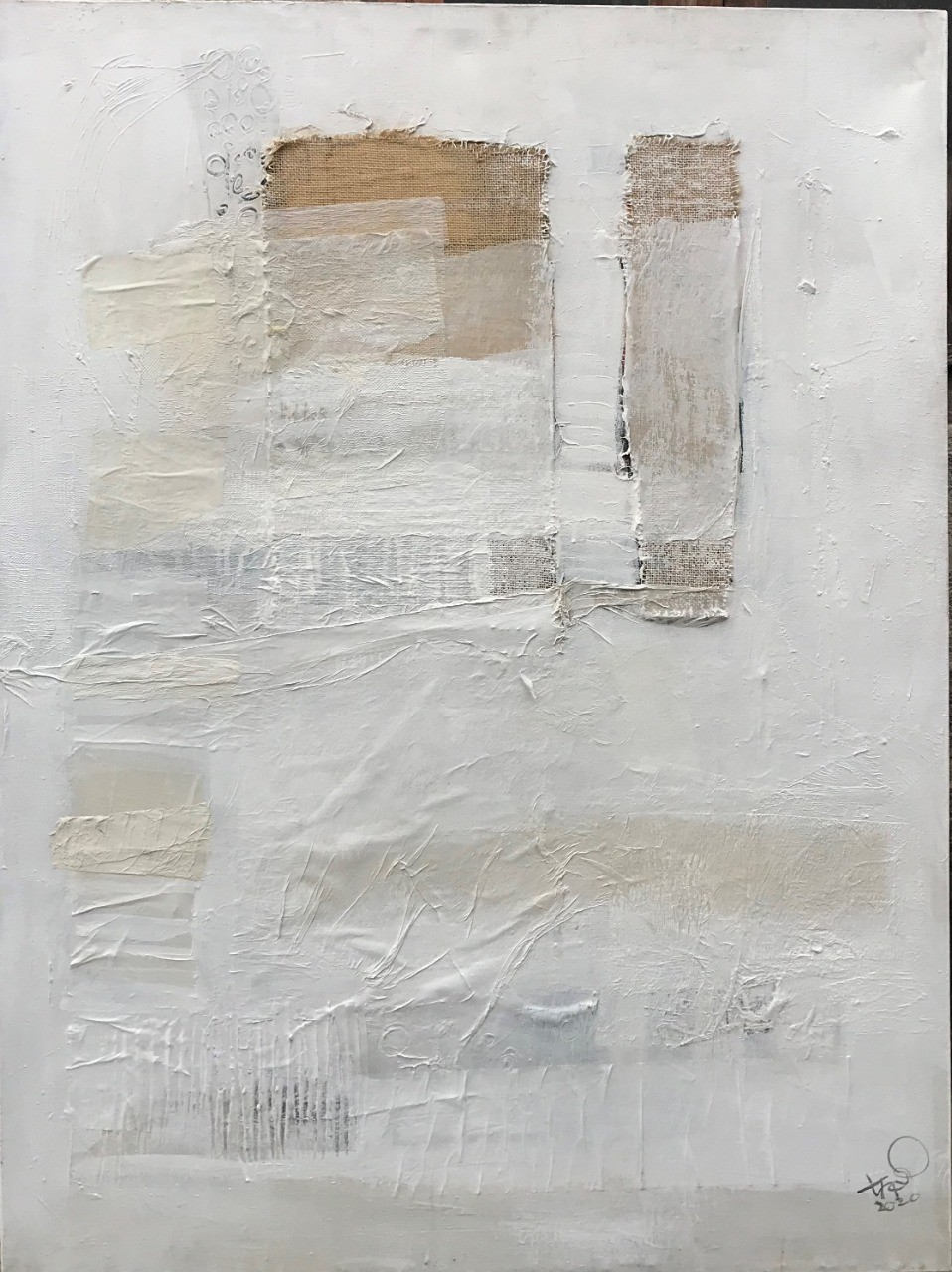 Abstract/ Untitled (3) by Ajith Susantha