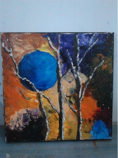 blue moon by Arul Ramesh