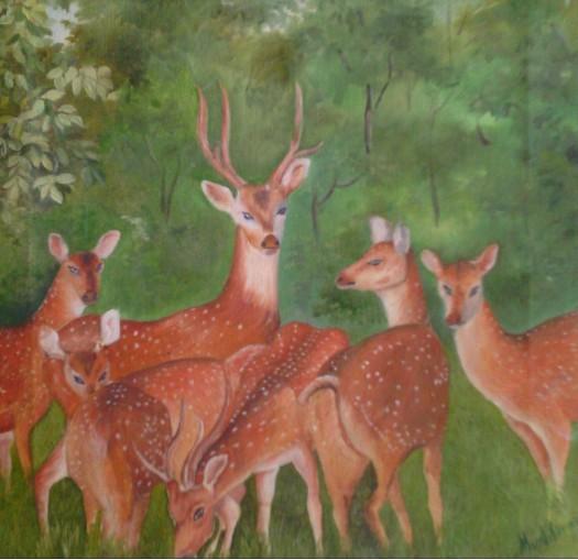 deer by Fathima Haseena