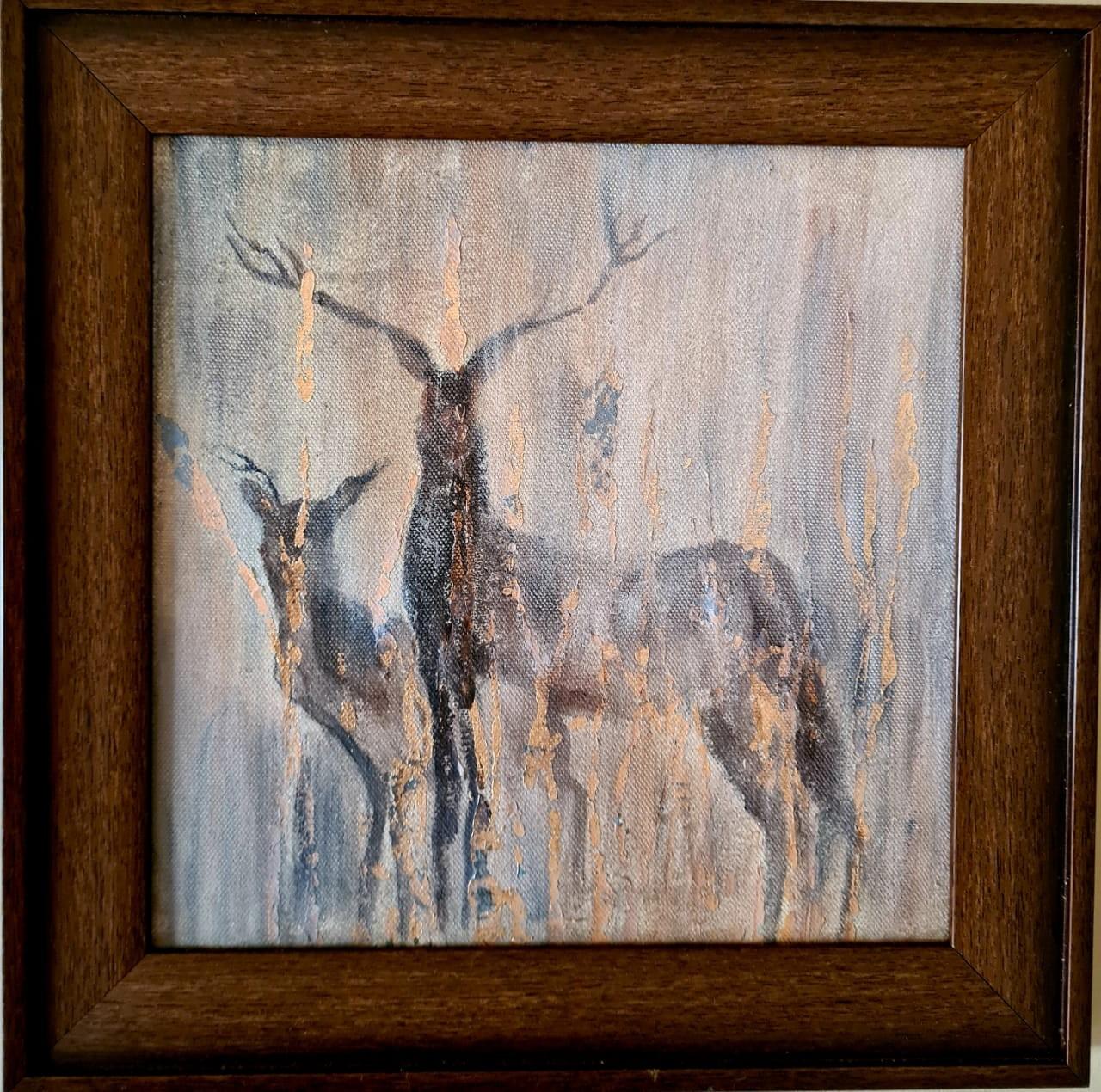 Deer park by Jean wijesekera